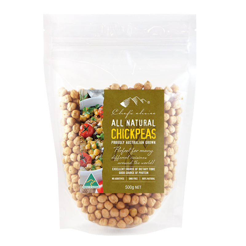 Chef's Choice Whole Chickpeas   500g