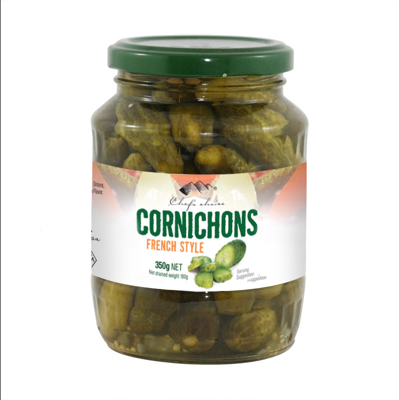 Chef's Choice Cornichons French Style  370ml