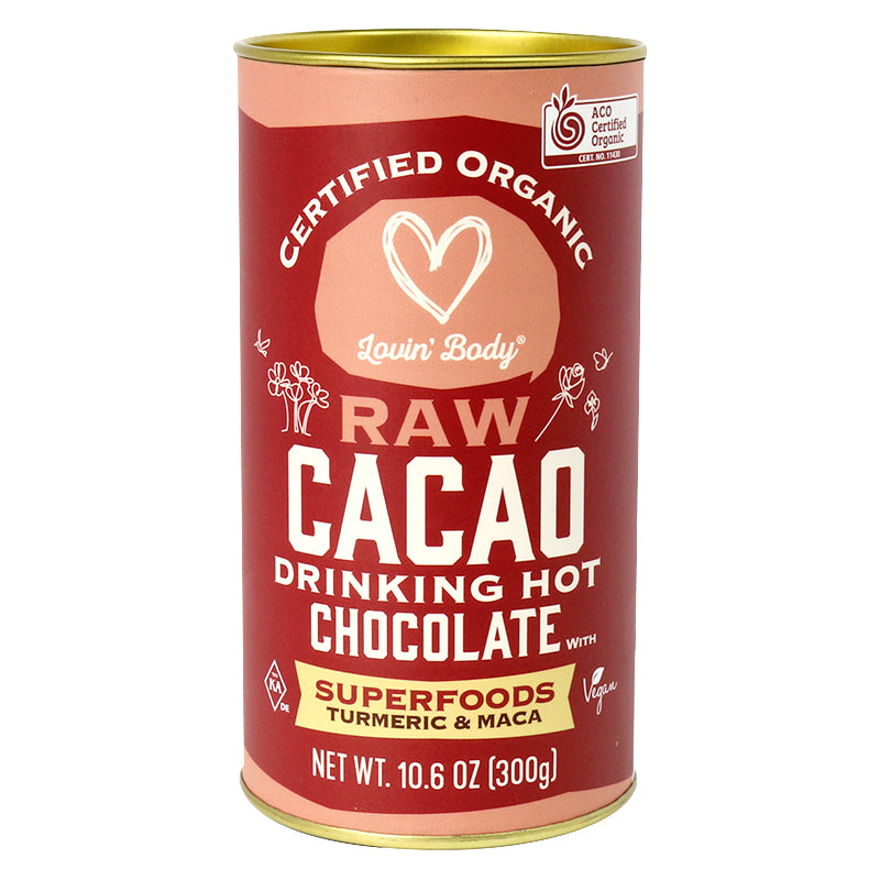 Chef's Choice Organic Raw Cacao Superfood Hot Chocolate  300g