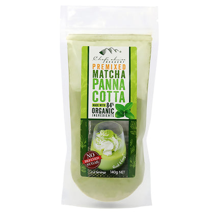 CHEF'S CHOICE Premix Matcha Panna Cotta  140g