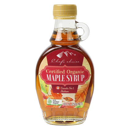 CHEF'S CHOICE Organic Maple Syrup  189ml