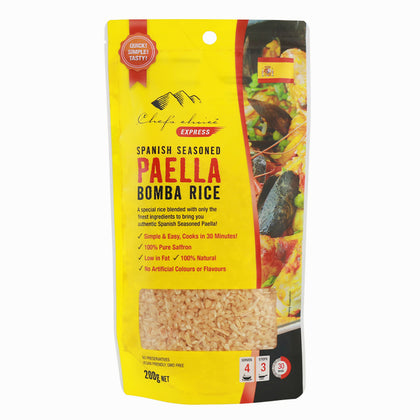 CHEF'S CHOICE Paella Bomba Rice  200g