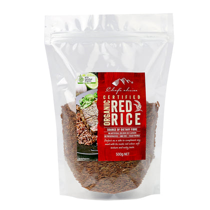 CHEF'S CHOICE Organic Red Rice  500g