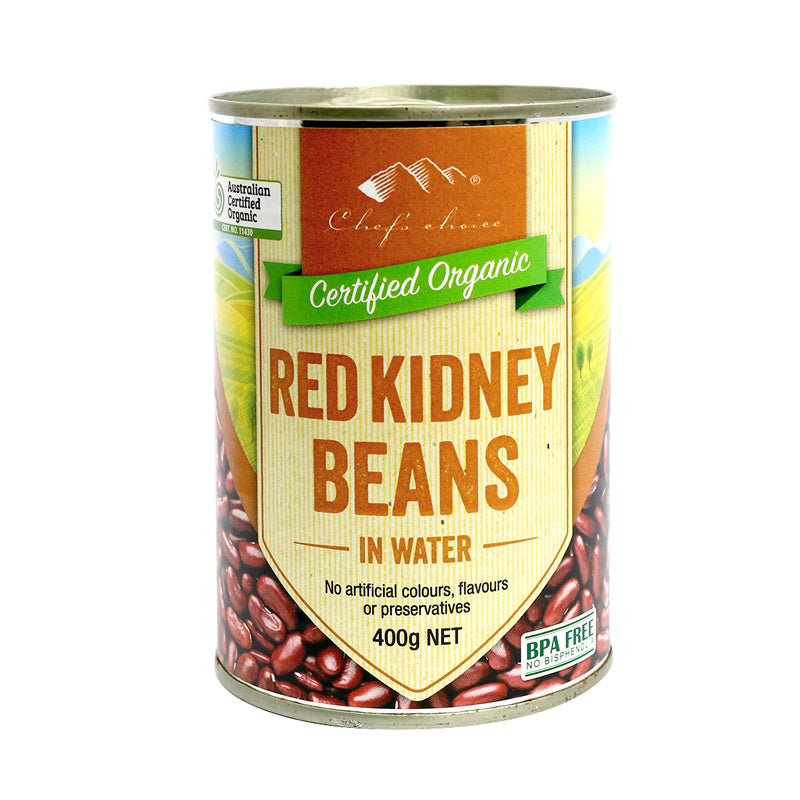 Organic Red Kidney Beans (Can)