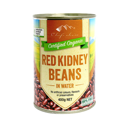CHEF'S CHOICE Organic Red Kidney Beans (Can)