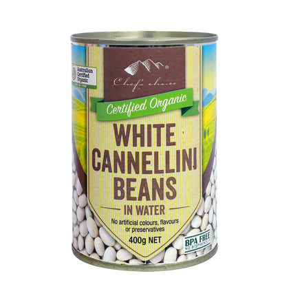 CHEF'S CHOICE Organic White Cannellini (Can)