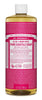 DR. BRONNERS CASTILE LIQUID SOAPS   Rose 946ml