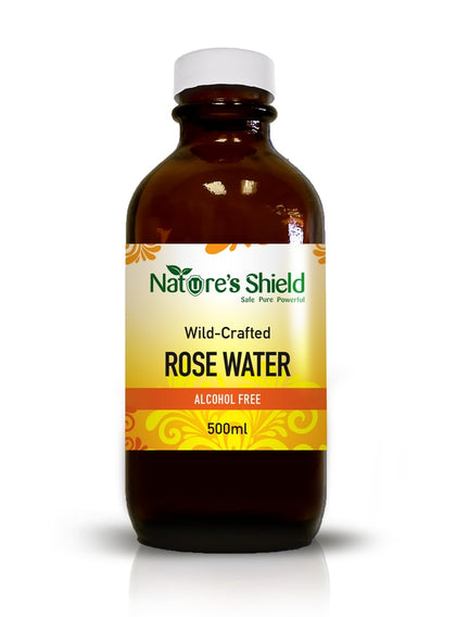 Wildcrafted Natural Rose Water