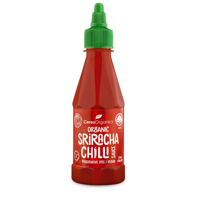 Ceres Organic Sriracha Chilli Sauce  250ml