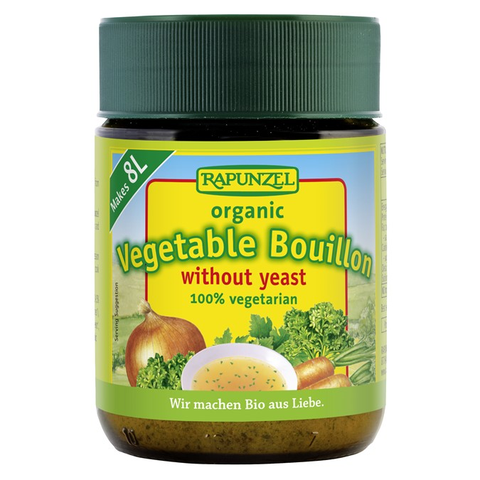 Rapunzel Vegetable Bouillon Powder, Yeast Free  125g