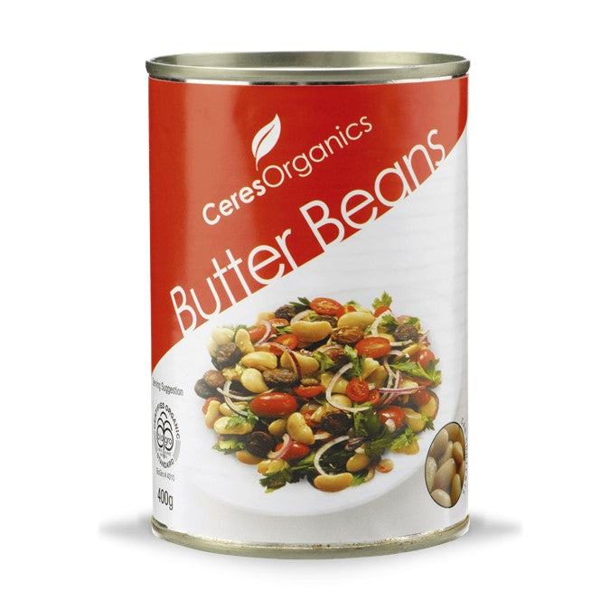 Ceres Organic Butter Beans (can)  400g