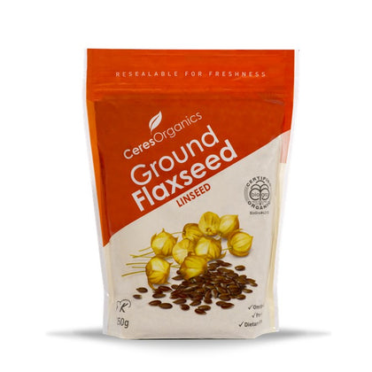 CERES ORGANICS Ceres Organic Flaxseed Ground   250g