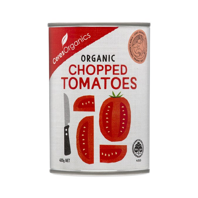 Ceres Organic Chopped Tomatoes (can)  400g