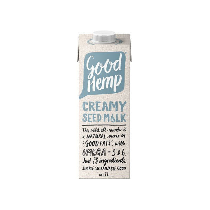 Ceres Organic Good Hemp Creamy Seed Milk 1L