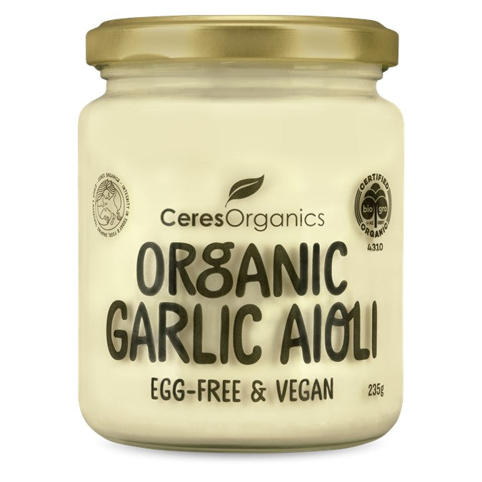 Ceres Organic Garlic Aioli (Vegan)  235g