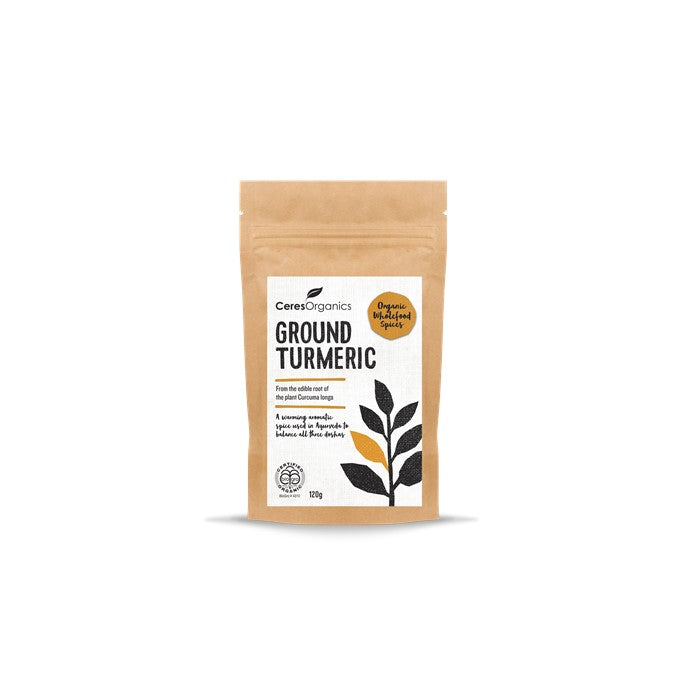 Ceres Organic Ground Turmeric  120g