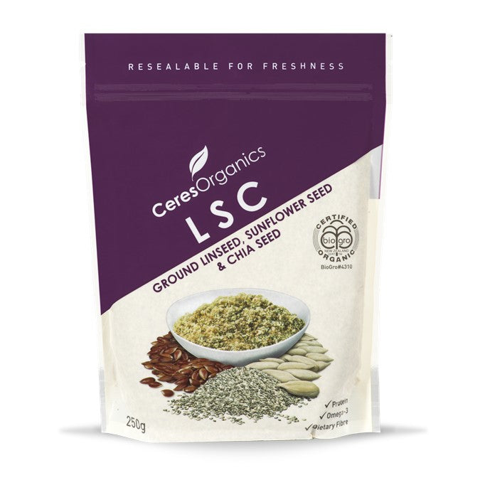 Ceres Organic LSC (Linseed, Sunflower & Chia)  250g