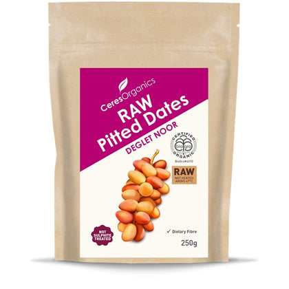 CERES ORGANICS Ceres Organic Pitted Dates Raw  250g