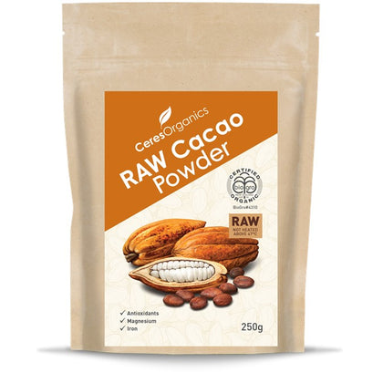 CERES ORGANICS Ceres Organic Cacao Powder Raw