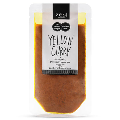ZEST BYRON BAY Yellow Curry  175g