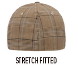 6196 FLEXFIT® GLEN CHECK