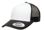 6606W YP CLASSICS™ TRUCKER WITH WHITE FRONT PANELS