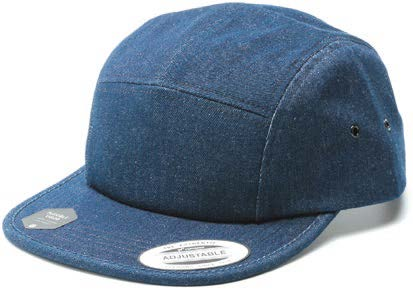 7005DM-JPLT DENIM JOCKEY CAP