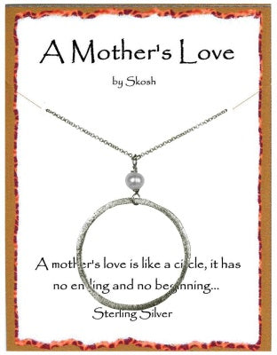 Silver A Mother's Love Necklace