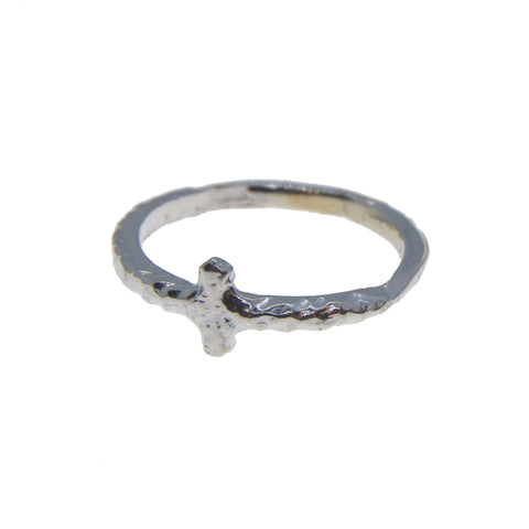 Courage Cross Ring