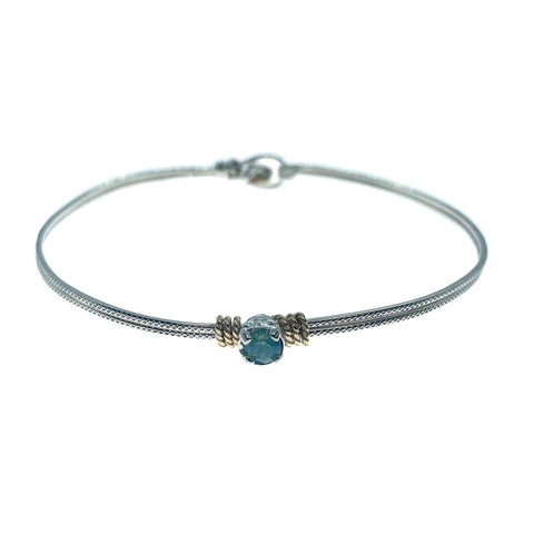 Princess Solitaire Bracelet