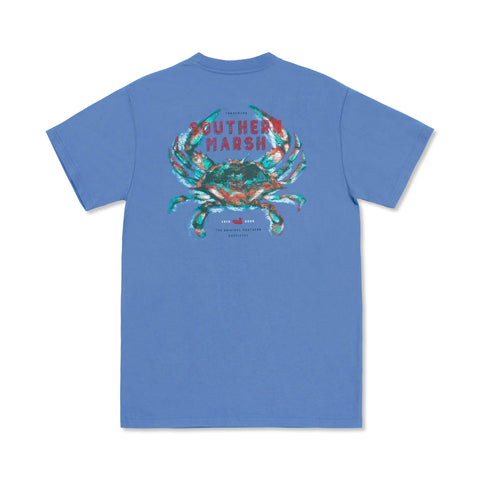 Impressions Crab T-Shirt Oxford Blue
