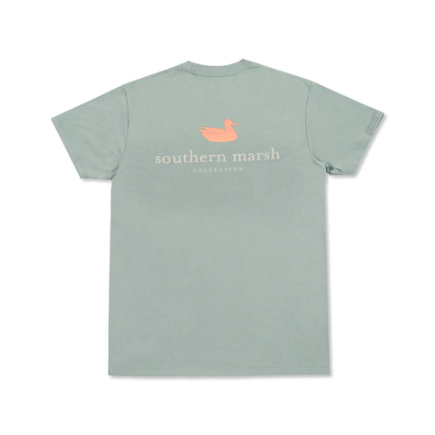Authentic Rewind T-Shirt Burnt Sage