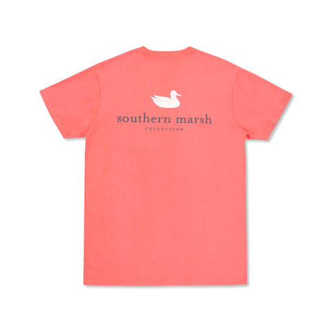 Authentic Rewind T-Shirt Coral