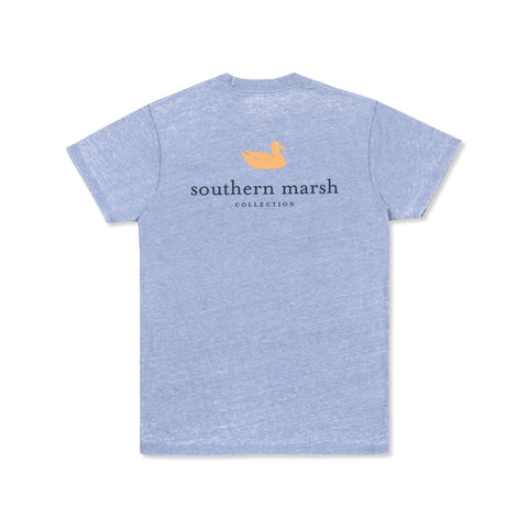 Seawash Authentic T-Shirt Washed Blue