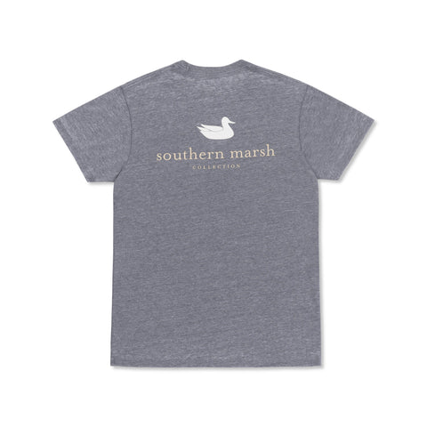 Seawash Authentic T-Shirt Washed Navy