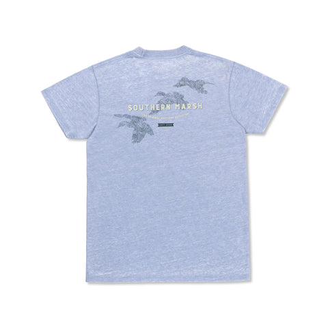 Seawash Three Ducks T-Shirt Washed Blue