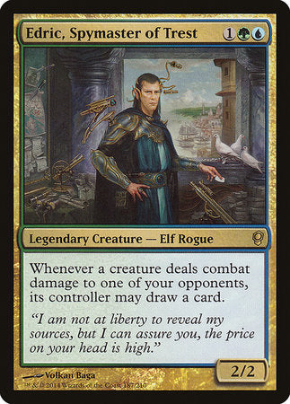 Edric, Spymaster of Trest [Conspiracy] | Dragons Den Cards & Games