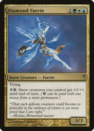 Diamond Faerie [Coldsnap] | Dragons Den Cards & Games