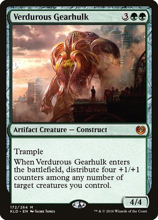 Verdurous Gearhulk [Kaladesh] | Dragons Den Cards & Games