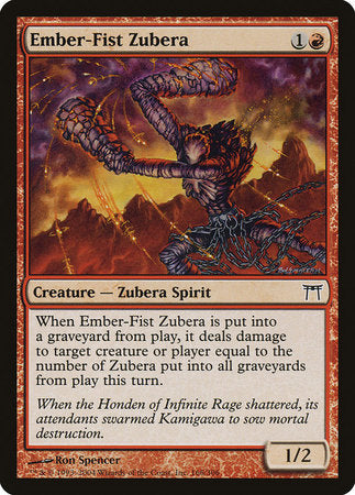 Ember-Fist Zubera [Champions of Kamigawa] | Dragons Den Cards & Games