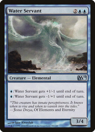 Water Servant [Magic 2011] | Dragons Den Cards & Games