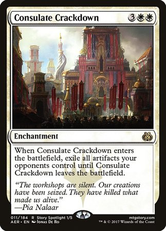 Consulate Crackdown [Aether Revolt] | Dragons Den Cards & Games
