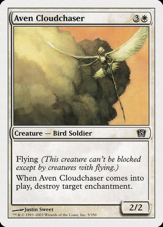 Aven Cloudchaser [Eighth Edition] | Dragons Den Cards & Games