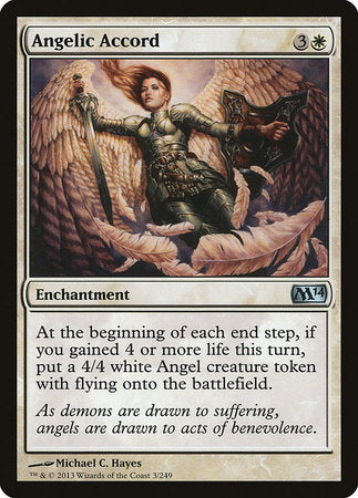 Angelic Accord [Magic 2014] | Dragons Den Cards & Games