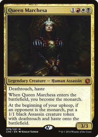 Queen Marchesa [Conspiracy: Take the Crown] | Dragons Den Cards & Games
