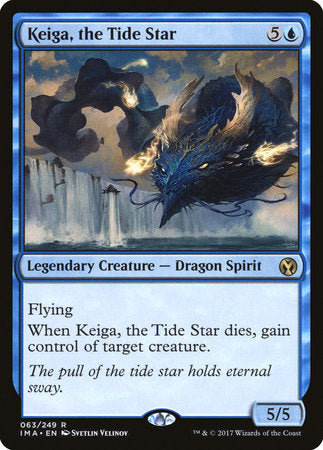 Keiga, the Tide Star [Iconic Masters] | Dragons Den Cards & Games