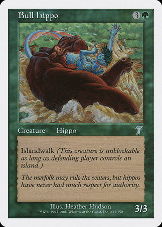 Bull Hippo [Seventh Edition] | Dragons Den Cards & Games