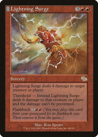 Lightning Surge [Judgment] | Dragons Den Cards & Games