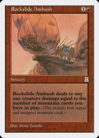 Rockslide Ambush [Portal Three Kingdoms] | Dragons Den Cards & Games