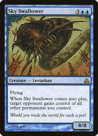 Sky Swallower [Guildpact] | Dragons Den Cards & Games